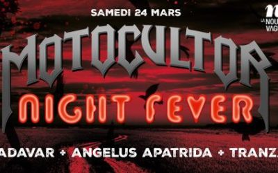 Motocultor Festival : le warm up du 24 Mars!